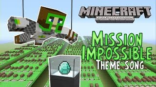 Mission Impossible Theme Song | ♫ Minecraft Xbox 360 Noteblock Song ♫ |