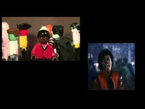 Lego Michael Jackson Tribute Mix (Comparison with original)
