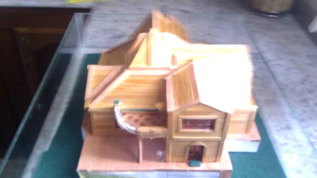 maquette maison youtube. Black Bedroom Furniture Sets. Home Design Ideas