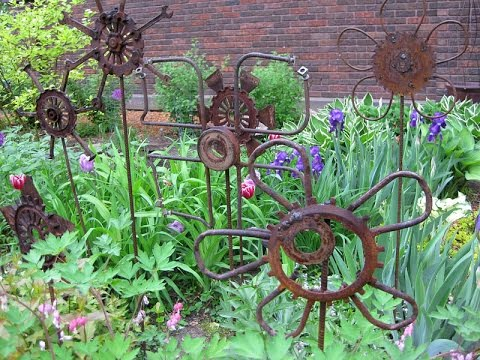 Garden Art I Garden Art Diy YouTube