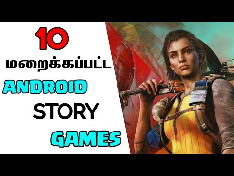 Top 10 Best Story Based Android Games Not Available In Play Store | Story Android Games