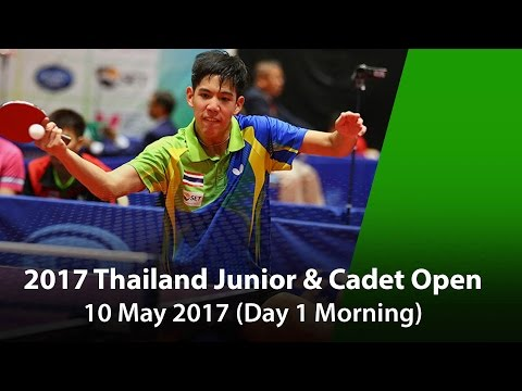 2017 SET Thailand Junior and Cadet Open - Day 1 Morning session