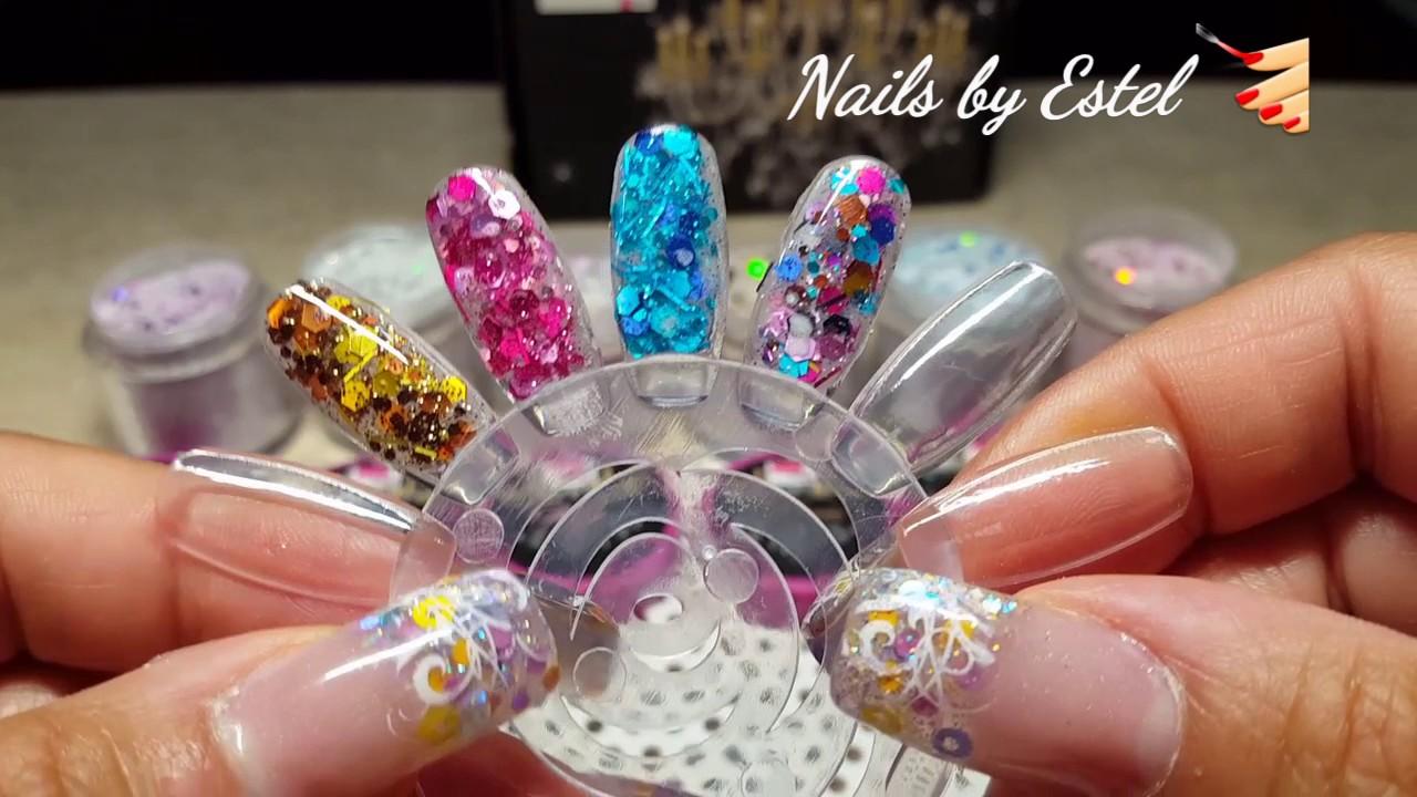 Fantasy Nails The Escandalo Collection - YouTube