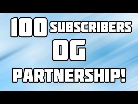[Danish] 100 subs og Partnership!