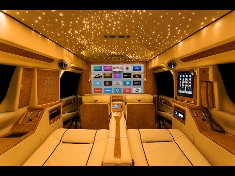 2017 Escalade Interior >> The Ultimate Mobile Office? Tyrese Gibson's Cadillac Escalade by Lexani Motorcars (2017) - YouTube