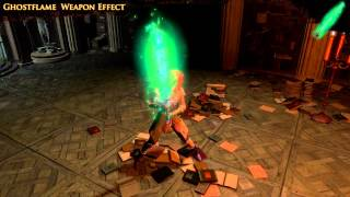 Path of Exile - Ghostflame Weapon Effect