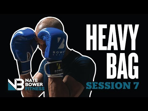 Ultimate 20 Minute Heavy Bag Workout Round 7