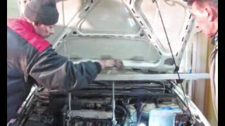 Passat How to replace rear engine mounts