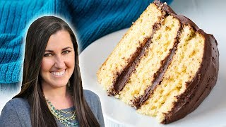 How to Make The Most Amazing Vanilla Cake | The Stay At Home Chef