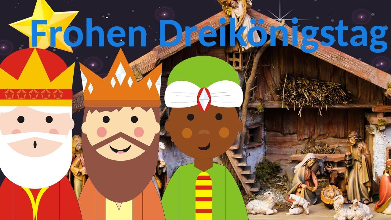 Frohen Dreikönigstag Liebe Grüße Zum Tag Der Heiligen Drei Könige
