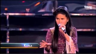 Karla Herrarte - Canta: Ahora tú - Academia Kids - Sexto Concierto