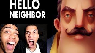 HELLO NEIGHBOR #1 | PrankBrosGames