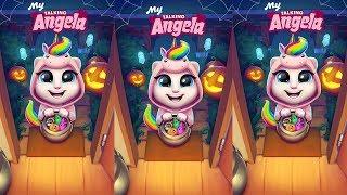 Enjoy this video! My Talking Angela Halloween Magical New Unicorn O...