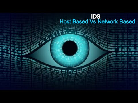 IDS  HIDS Vs NIDS  Difference between HOST based IDS & NETWORK  based IDS