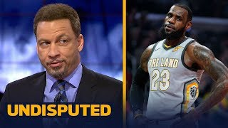 Chris Broussard thinks LeBron needs to leave Cleveland if he wants to be the GOAT | NBA | UNDISPUTED