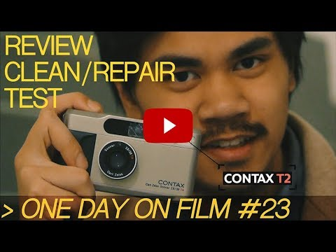 ODOF #22 | CONTAX T2 (Full Review/Repair/Test)