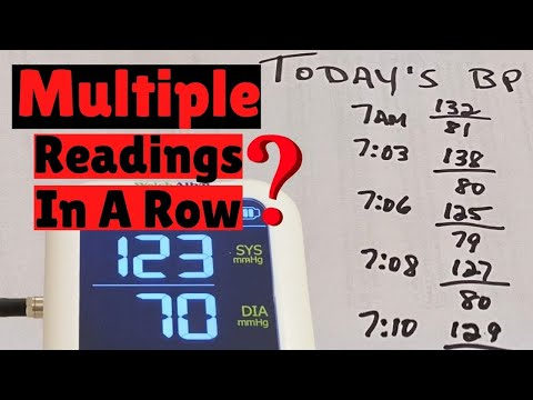 multiple-blood-pressure-readings---can-you-take-multiple-bp-readings-in-a-row?