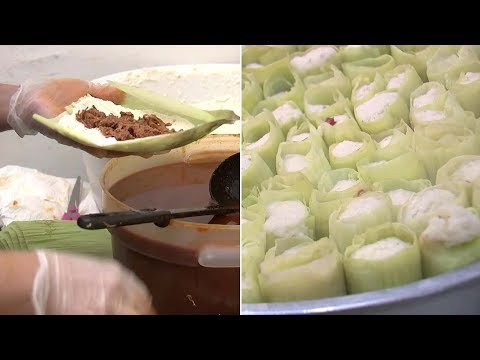 Tamale time! San Fernando eatery churns out tasty holiday dish | ABC7