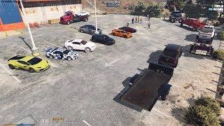 GTA 5 FiveM SARP | Multicultural Car Meet - Showcase, Fights, & Cops w/ Funny Moments
