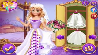 Disney Frozen games: Rapunzel Medieval Wedding - Ariel Graduation Ball Queen - Princess Di