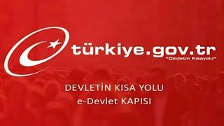 e-DEVLET E GİRİŞ