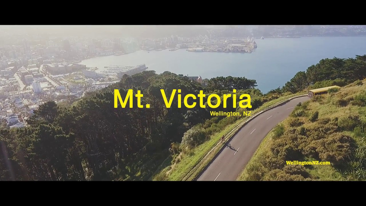 Mountain Biking At Mt Victoria Wellington New Zealand Youtube