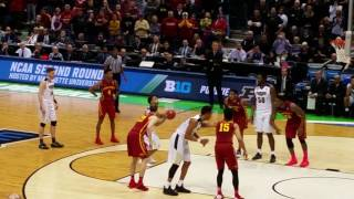 Final minute of Iowa State vs. Purdue - 2017 NCAA Basketball Tournament