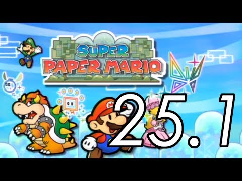 Let's Play Super Paper Mario [25.1] 5 to 6 interlude 1/2
