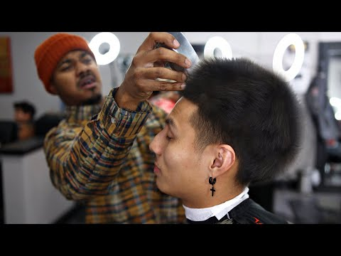 MUST SEE HAIRCUT TUTORIAL: HOW DID HE DO THAT?!?!