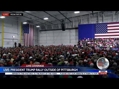 WATCH: President Donald Trump EXPLOSIVE Rally in Moon Township, PA 3/10/18