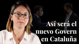 Así será el nuevo Govern en Cataluña