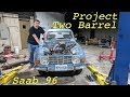 Upgrading My Saab 96 to a Two Barrel Carb - Part 1