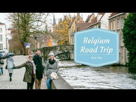 BELGIUM ROAD TRIP ft. Matt & Kenzi   Vlog #14