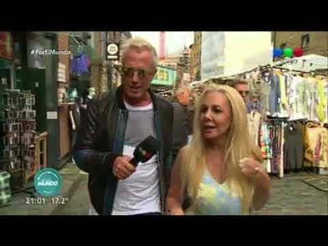 Mariana Nannis compra imitaciones en Camden Town - Por el Mundo