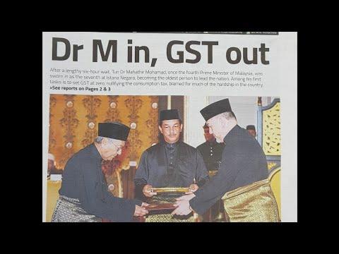 Malaysia Headlines 10 - 25 May 2018 (Post GE14)
