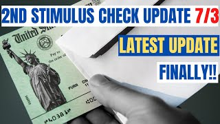 Second Stimulus Check| FINALLY The News We're Waiting For
