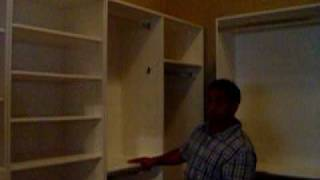 Manny's Organization Station Closet Renovation