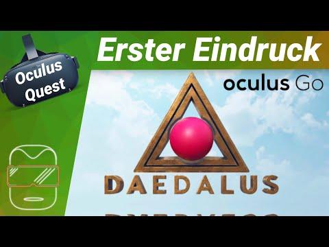 Oculus Quest - Daedalus: Plattform Puzzler [deutsch] Erster Eindruck Review Virtual Reality VR