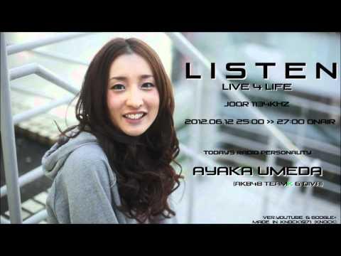 リッスン? ~Live 4 Life~ 2012.06.12 梅田彩佳 vere