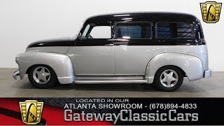 1949 Chevrolet Suburban - Gateway Classic Cars of Atlanta #407