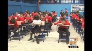Presidente Morales visitó Escuela Dario Gonzalez de Mixco