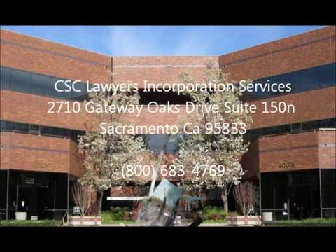 CSC Lawyers Incorporating Service Address
