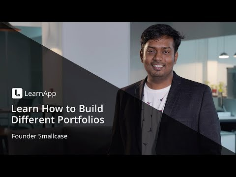 Learn to how to build different portfolios | Team Smallcase