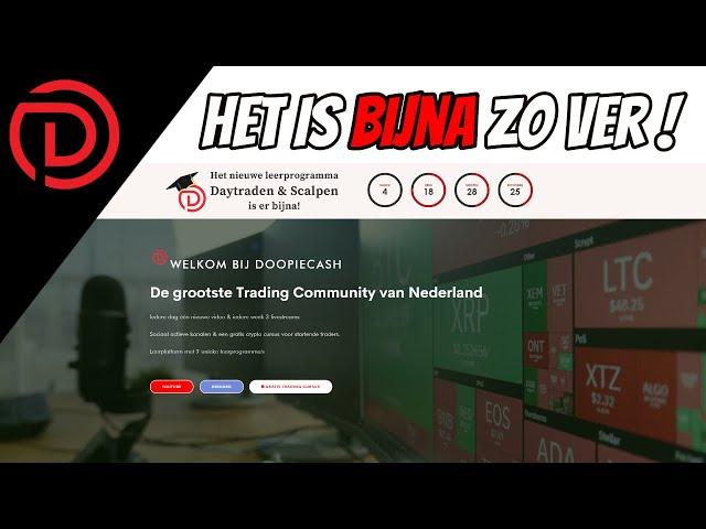 Nog 1 Week En Dan Is Het Zover ! | Live Koersupdate Bitcoin & Aandelen