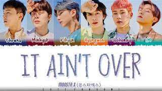 Baixar MONSTA X  - 'IT AIN'T OVER' Lyrics [Color Coded_Han_Rom_Eng]