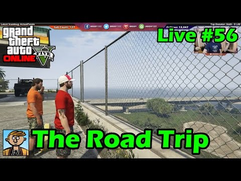 The Road Trip (GTA Role-Play) - GTA Live #56