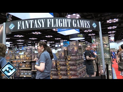 Gen Con 2016—Fantasy Flight Games - YouTube