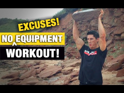 Complete NO EQUIPMENT Workout (Every Muscle Group!)