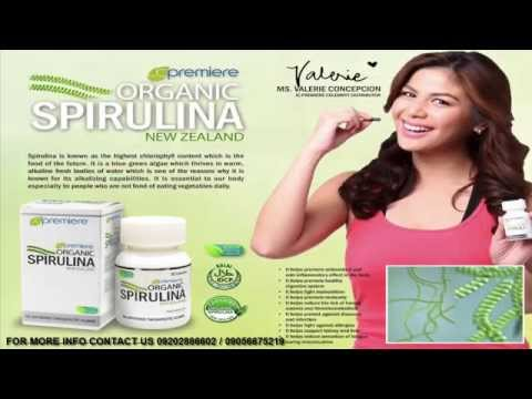 ORGANIC SPIRULINA CAPSULE  A QUALITY PRODUCT OF Jc Premiere