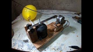 Membuat pompa udara sederhana. (Aerator)